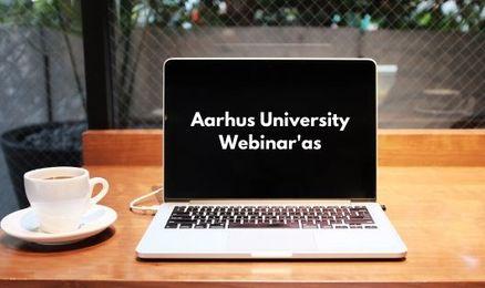 Webinar'as apie magistro studijas Aarhus University!