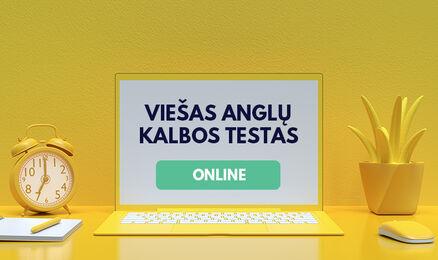 Skelbiamos Kastu anglų kalbos testo datos!