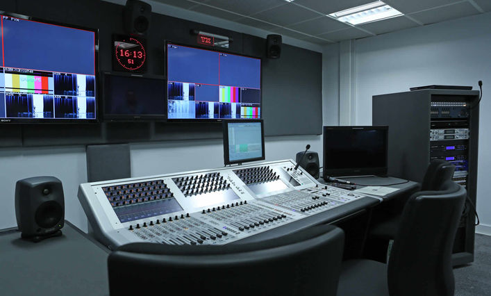 Birmingham City University Studio Facilities