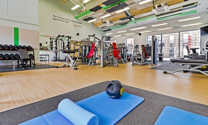 University of Bedfordshire gym