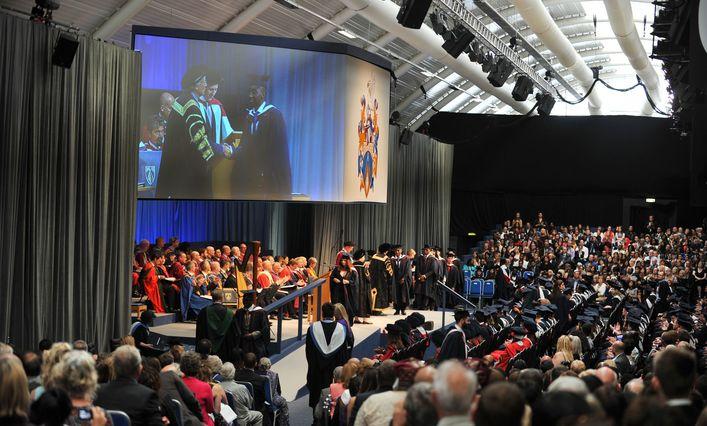 Brunel University London graduation ceremony